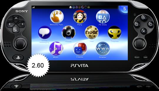 PS Vita se actualiza a la versión 2.60.